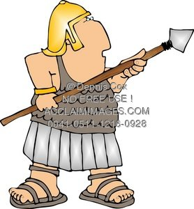 Spear clipart roman soldier Illustration: A Illustration: Stock Soldier