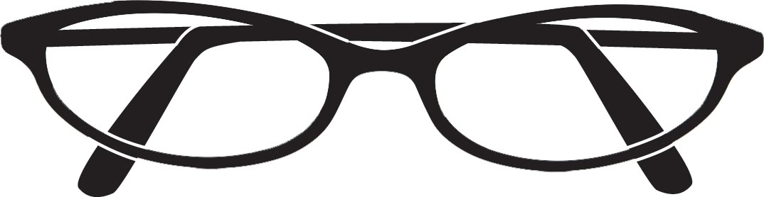 Geek clipart black glass Clip Free Clipart Eyeglasses Free