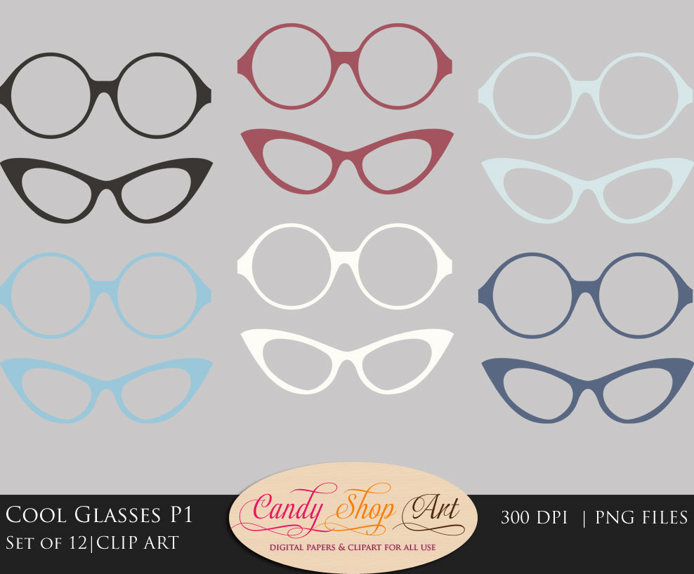 Spectacles clipart cool glass File a  Art Cool