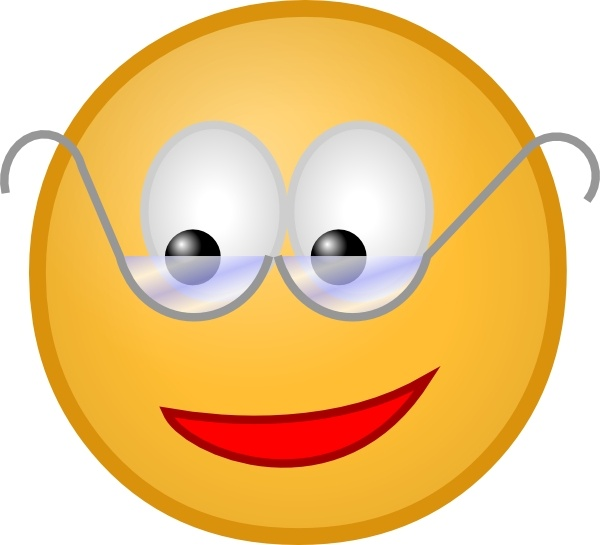 Spectacles clipart cool glass Art Glasses  Free vector