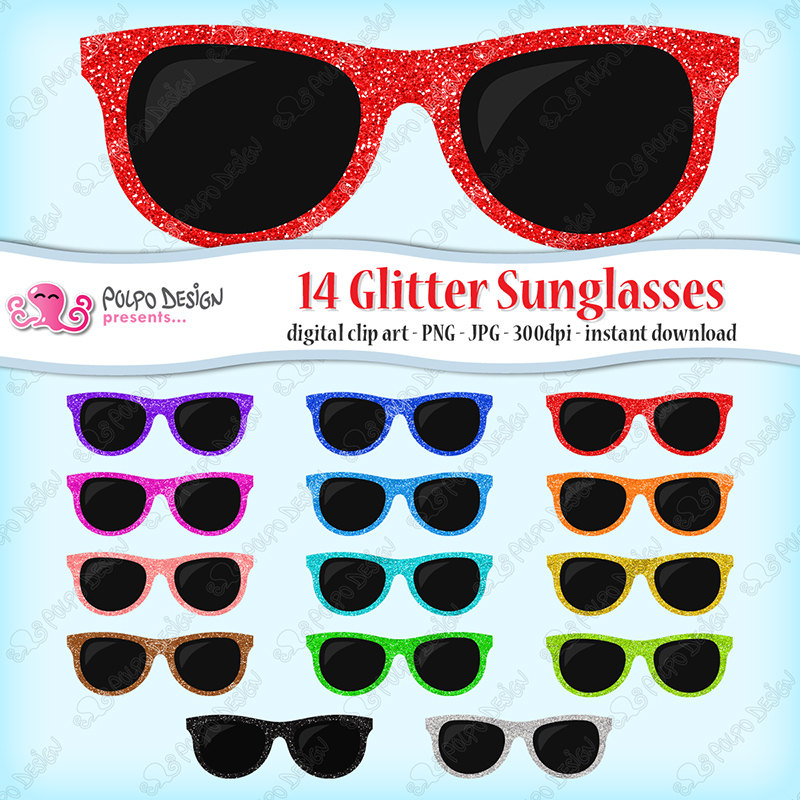 Spectacles clipart shades Sunglasses 14 clipart this clipart