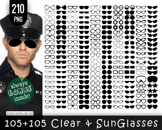 Spectacles clipart shades Glasses glasses clip eyeglasses PNG