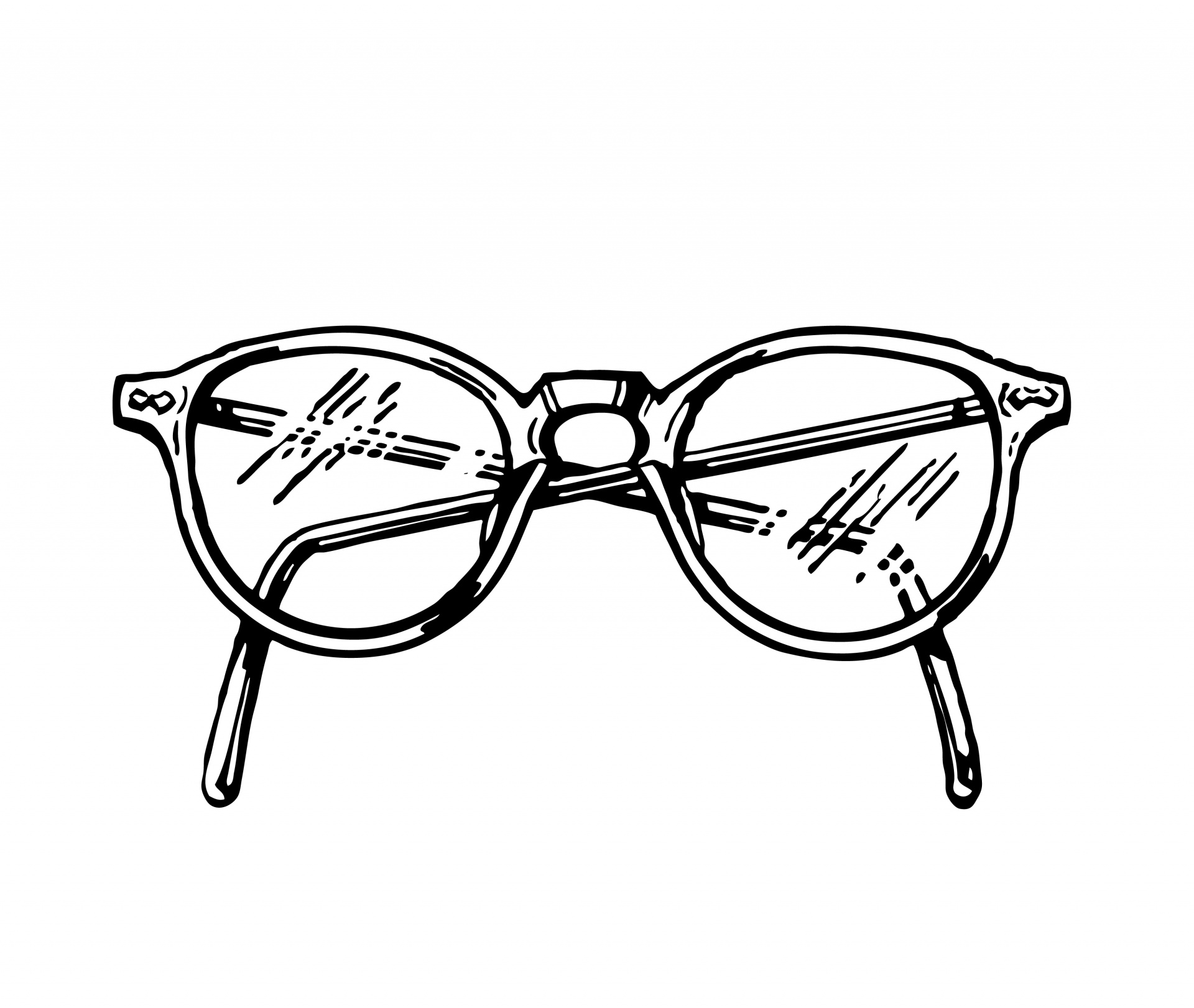 Spectacles clipart vision Illustration Clipart Free Spectacles Stock