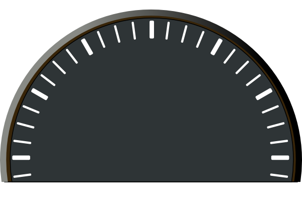 Speedometer clipart Vector online art this as:
