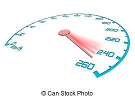 Speedometer clipart acceleration Illustrations 825 Speedometer maximum with