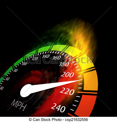 Speedometer clipart fire Speed speed csp21632556 with Speedometer