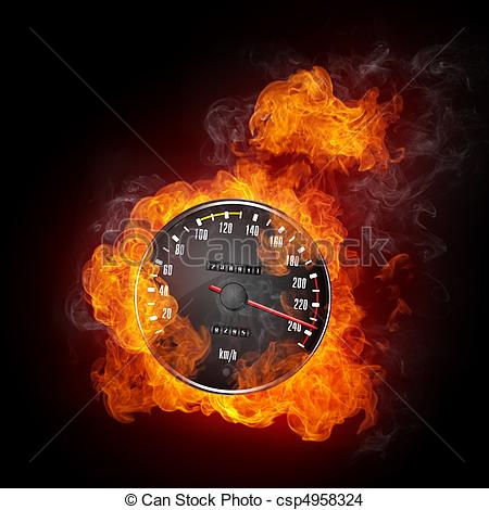 Speedometer clipart fire In  Clipart on Speedometer