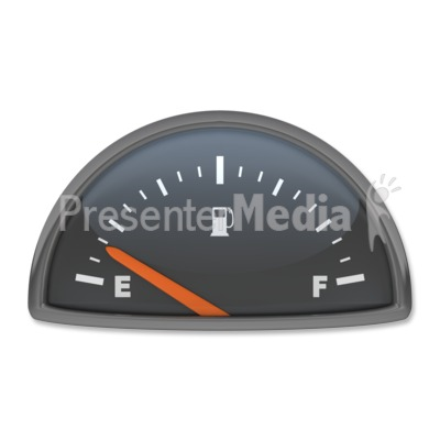 Speedometer clipart gas gauge #15