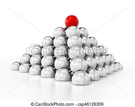 Sphere clipart 3d pyramid Shape forming pyramid pyramid Illustration