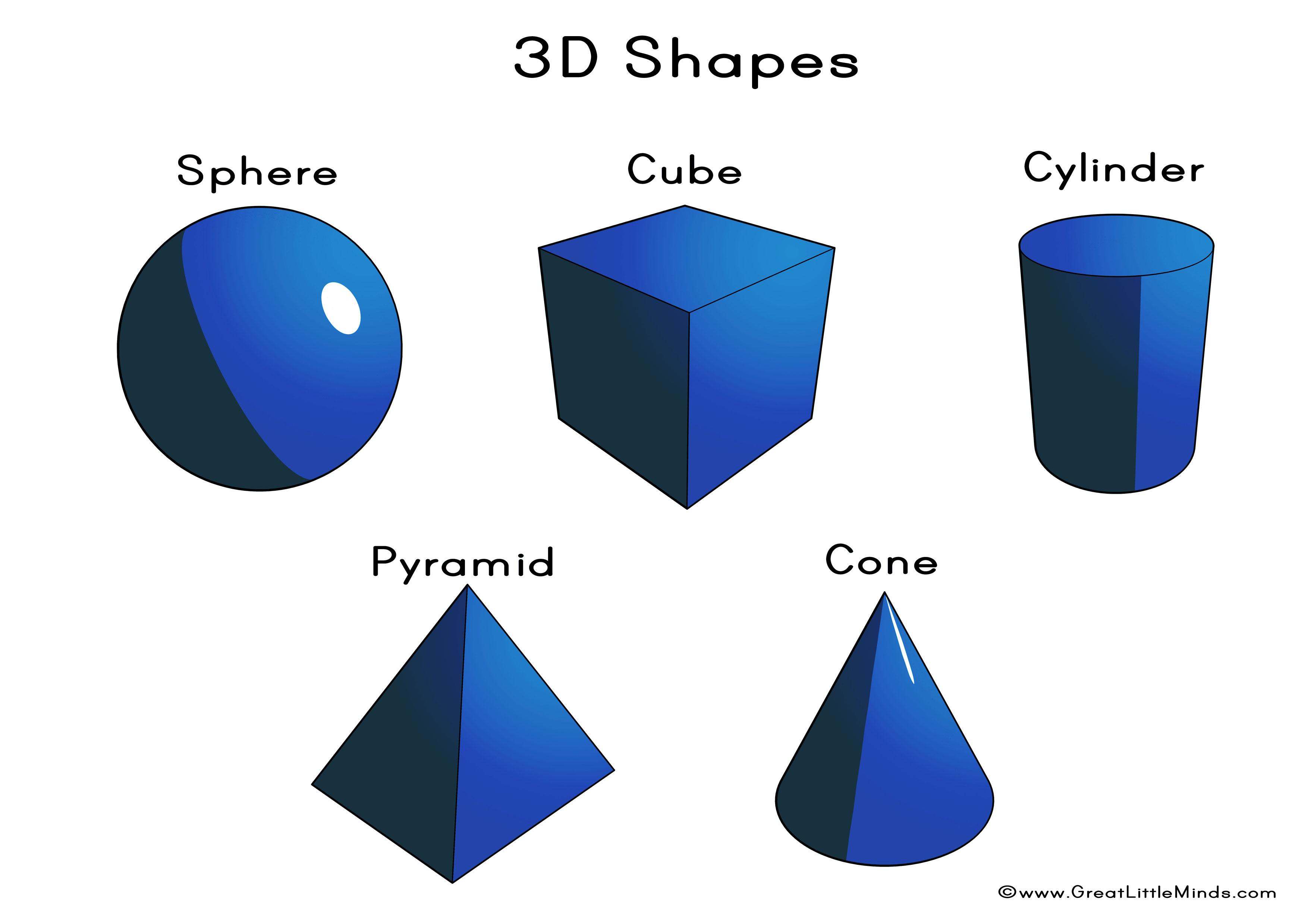 Other clipart 3d shapes Shapes Lessons 3d Google 3d