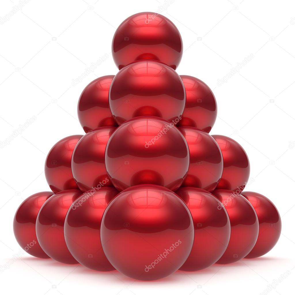 Sphere clipart 3d pyramid Leadership ball order 3d sphere