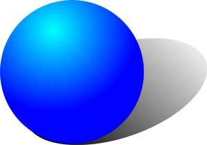 Circle clipart sphere shape #7