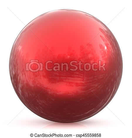 Sphere clipart basic shape Red button Images ball round