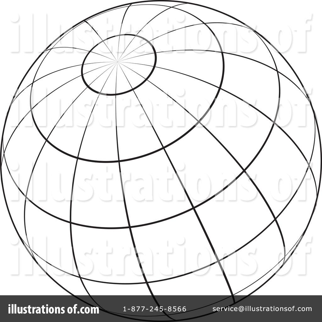 Sphere clipart black and white By Clipart by KJ KJ