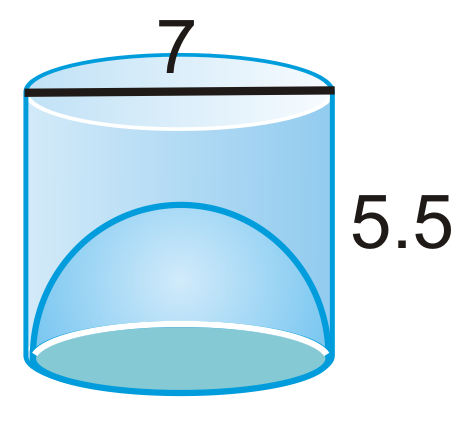 Sphere clipart cylinder Area Spheres right the of