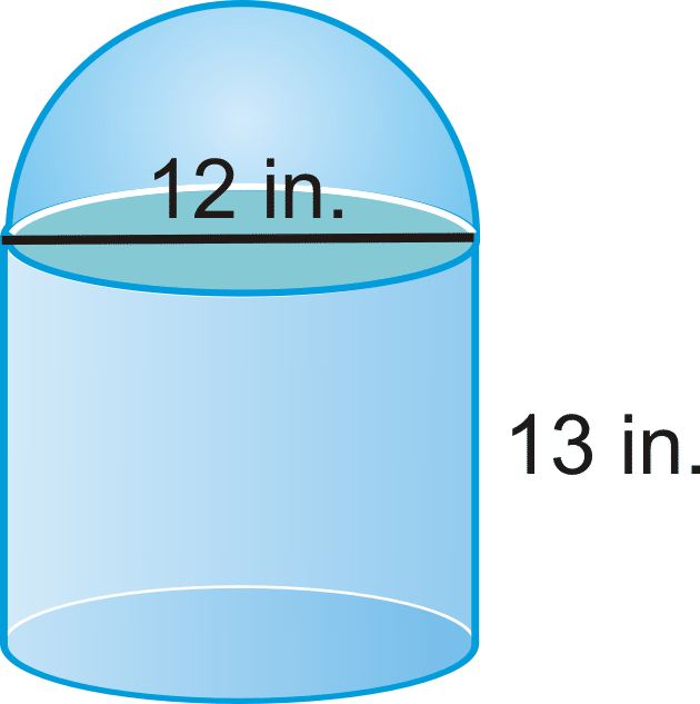 Sphere clipart cylinder A Spheres of Surface Area