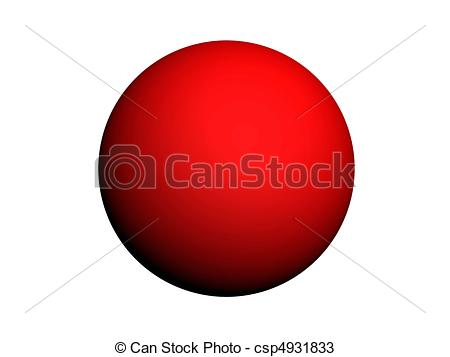 Sphere clipart different shape  Drawings csp4931833 Red Red