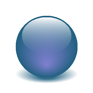 Sphere clipart light object Achieving with with effect SVG
