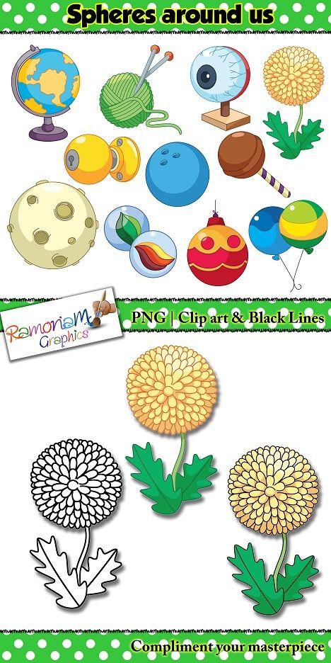 Sphere clipart math #5