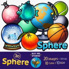 Sphere clipart math Weather Weather Clip Spheres Art