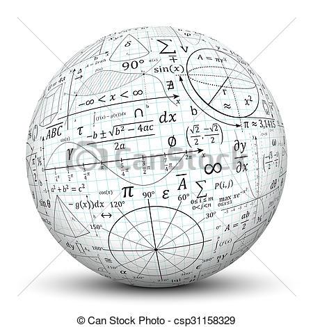 Sphere clipart math #2