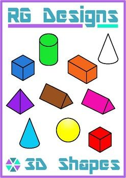 Sphere clipart rectangular prism Set 2D Art Clip and