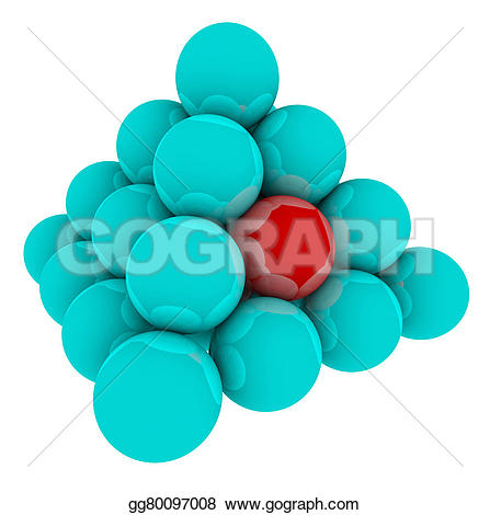 Sphere clipart red ball To ball competition middle or