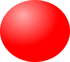 Sphere clipart red ball Com  Clip Red Clip