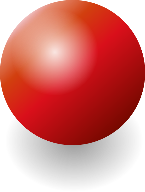 Sphere clipart red ball Art Clip Free Sphere Clipart
