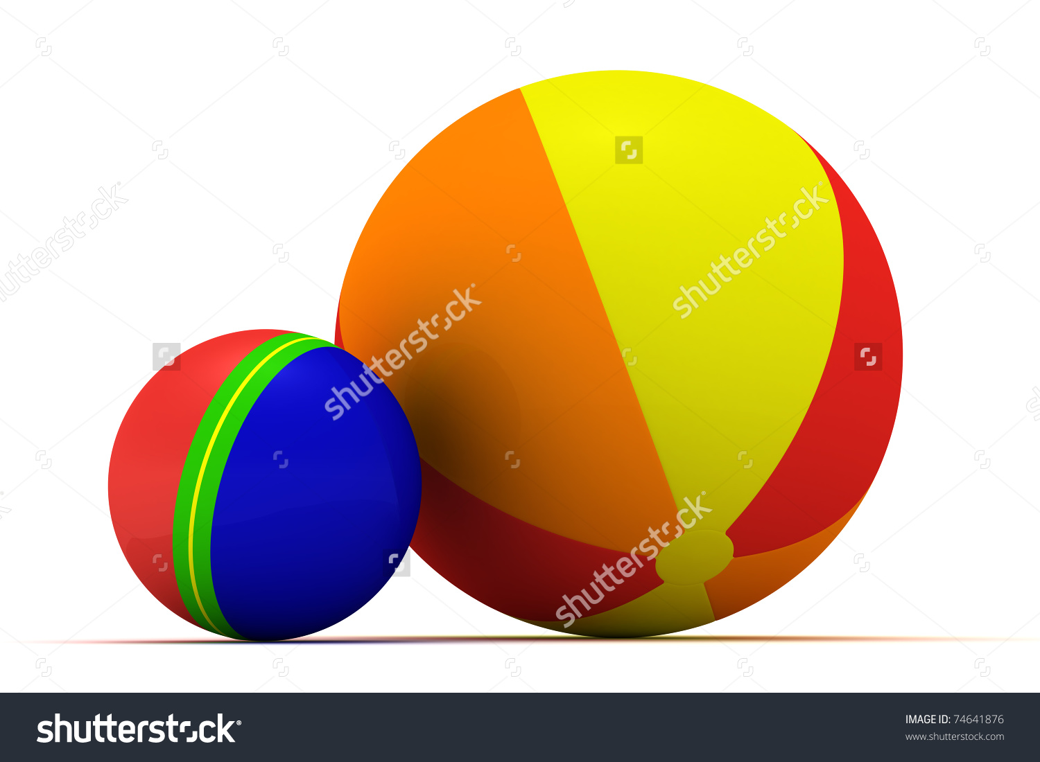 Sphere clipart small ball Isolated and Multicolored Big collections