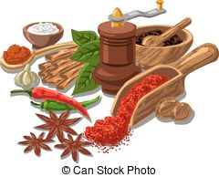 Spices clipart jalapeno Spices with csp9220612 Vector Illustration