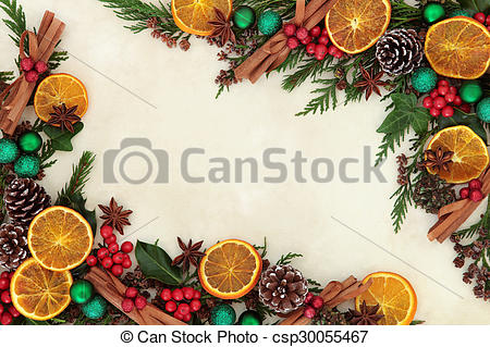 Spices clipart border Fruit Spice Illustration of and