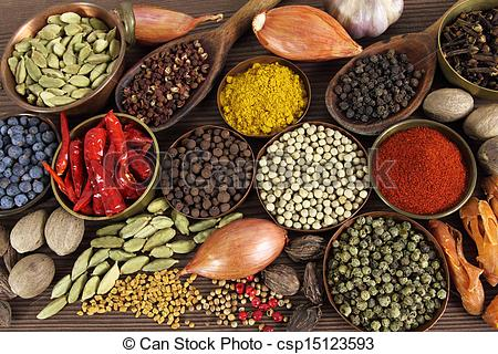 Spices clipart indian spice Of  spices Indian Stock