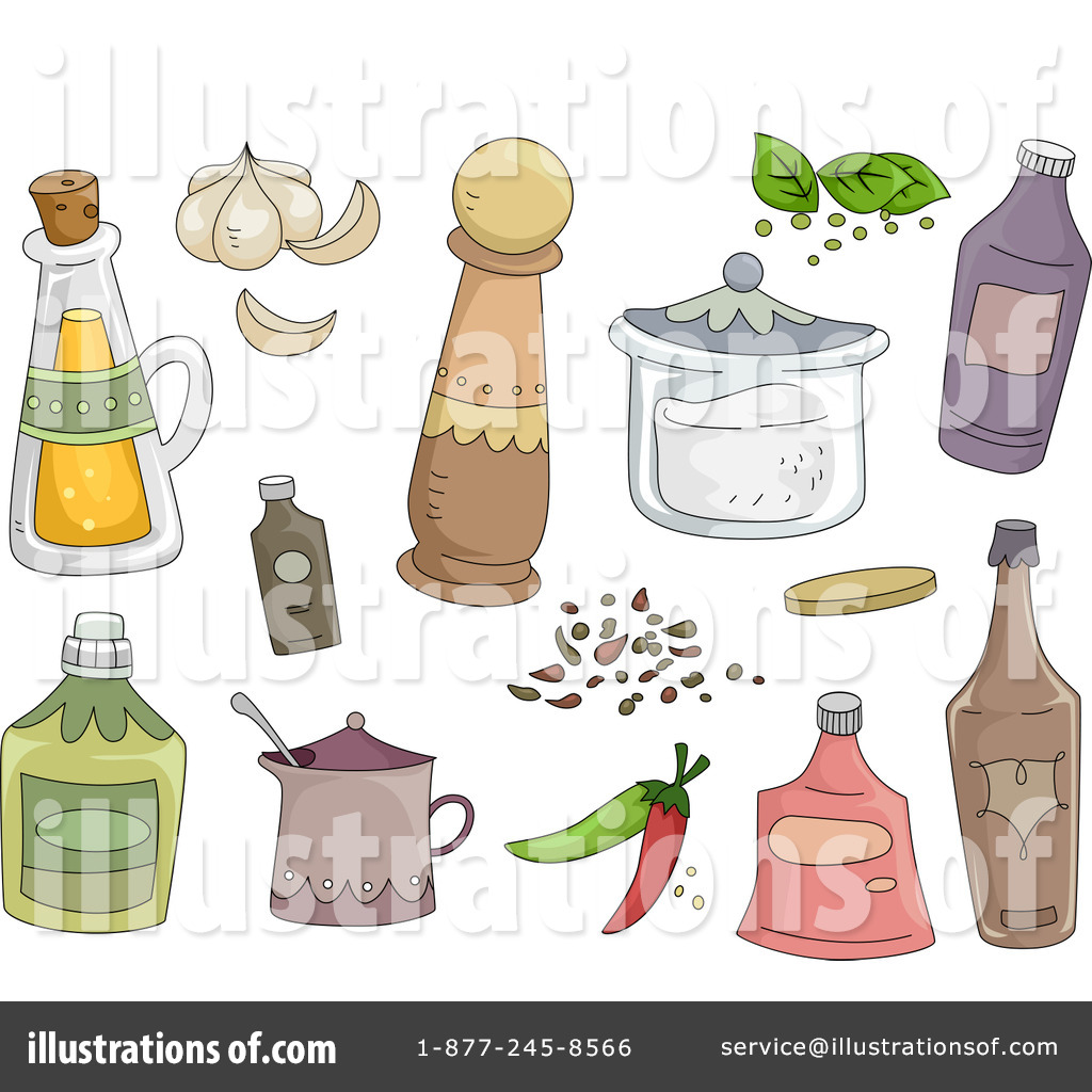 Spices clipart spice shaker Illustration Royalty Clipart Sample Design