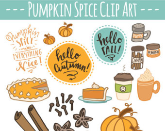 Spices clipart spicy food Pumpkin Autumn CLIP Clipart Latte