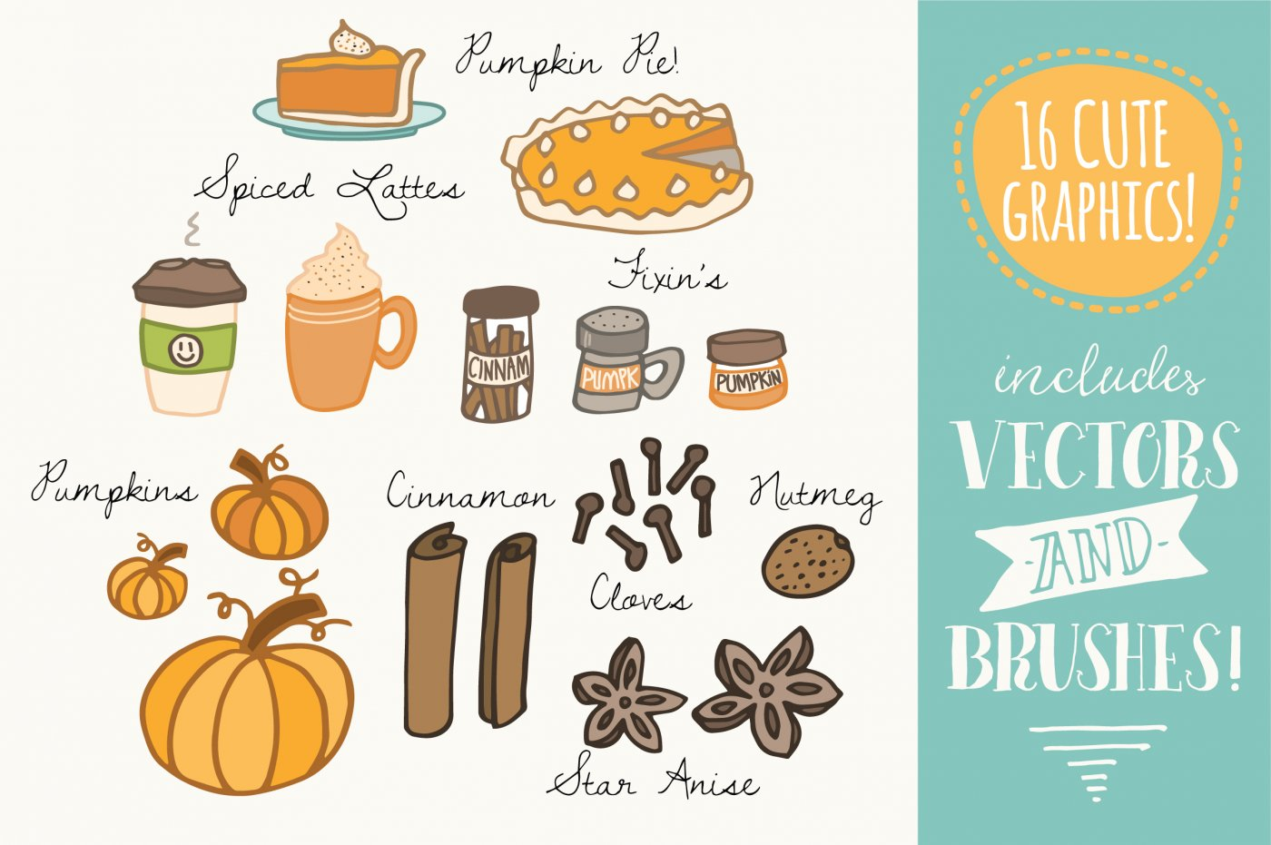 Spices clipart spicy food Clip Vectors  by Pumpkin