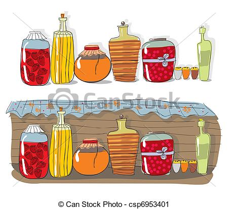 Spices clipart vector With csp6953401 and jam Vector