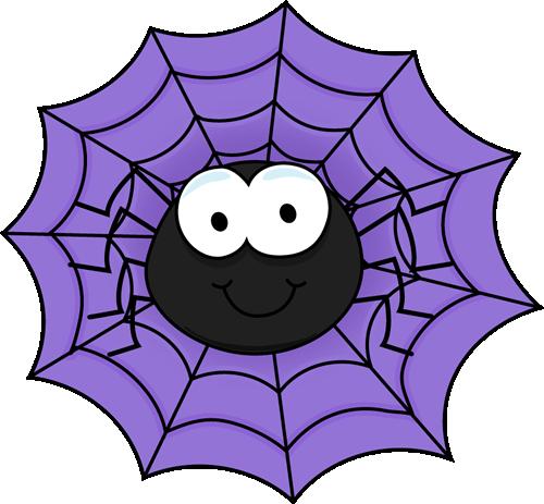 Smiley clipart spider Art Purple Spider a Clip
