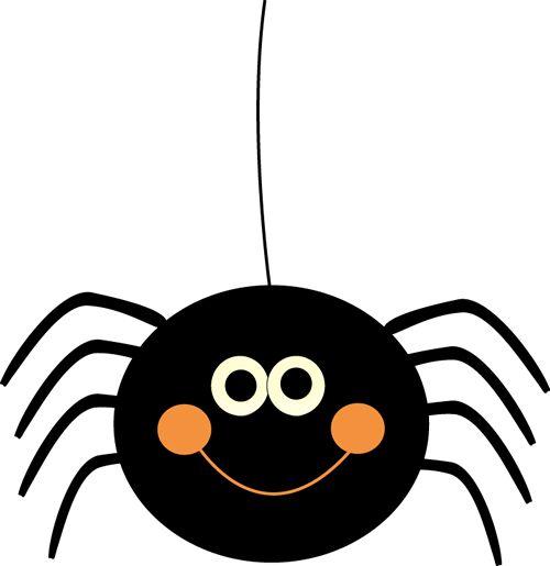 Bugs clipart spider Cute  Halloween Clip Clipart