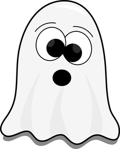 Ghostly clipart cartoon Ghost Clipart Spider Cute Kids