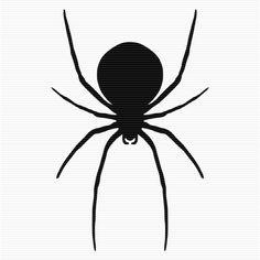 Shadow clipart spider #13