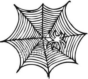 Drawn spider web nest Spider Clipart Clipart Panda Images