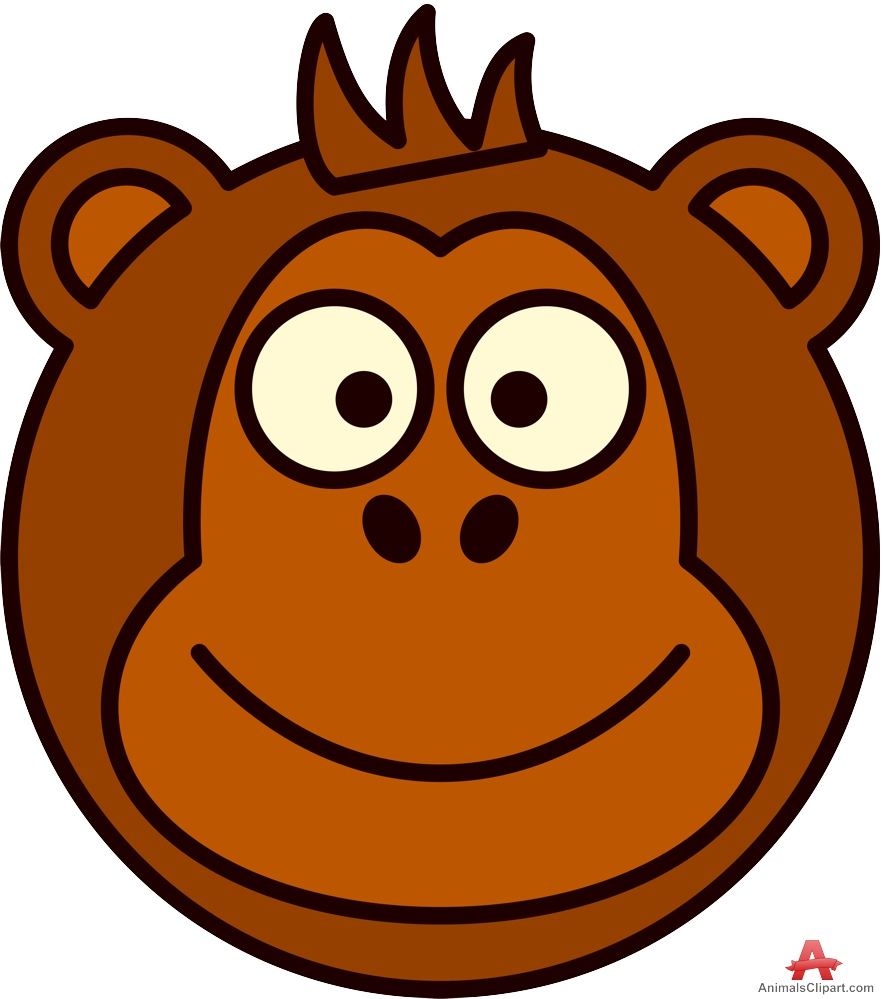 Baboon clipart face Monkey face clipartfest Clipart 67