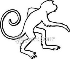 Spider Monkey clipart moneky Monkey Basic a ClipArt this