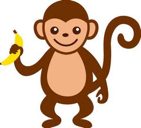 Panda clipart monkey Monkey clipart 2 art Monkey