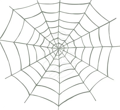 Spider Web clipart  art clipartcow clip Spider