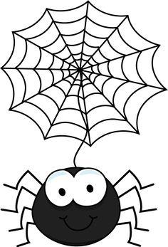 Spider Web clipart  Pinterest Spider Image Art