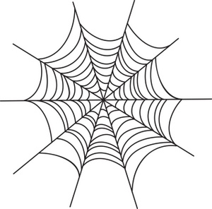 Drawn spider web graphic Web Clipart graphic Halloween spider
