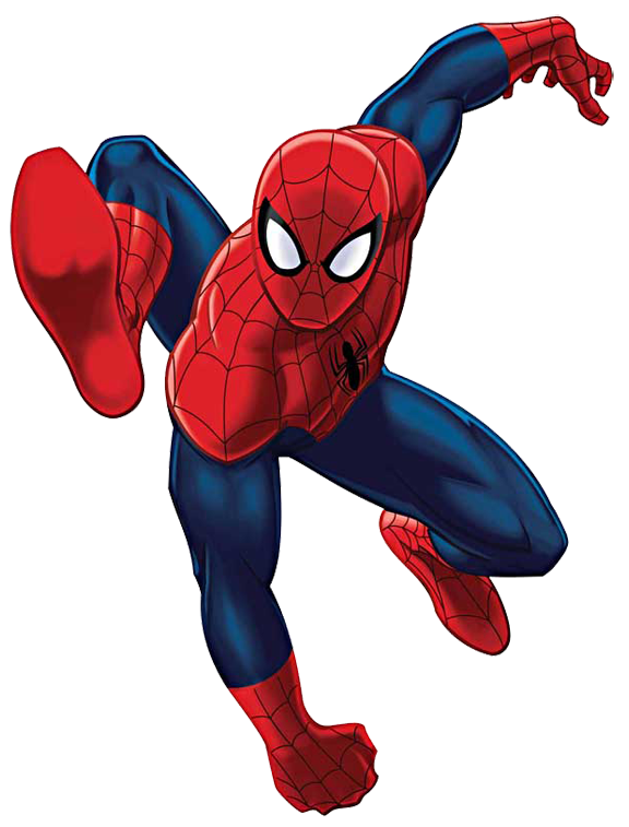 Spider-Man clipart Leap man Spider Spider Clipart