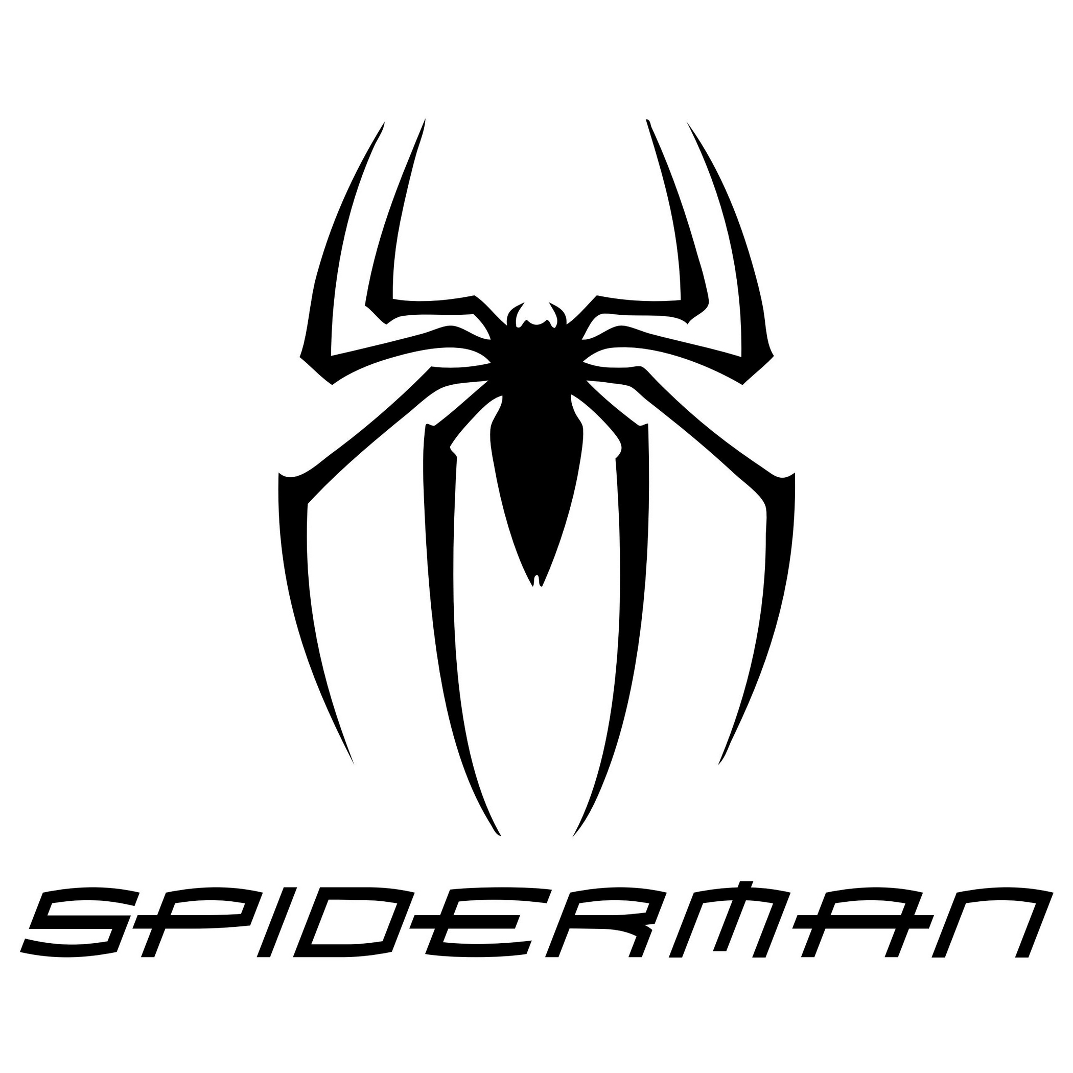 Spiderman clipart arachnid Spider Man Zone Silhouette Cliparts